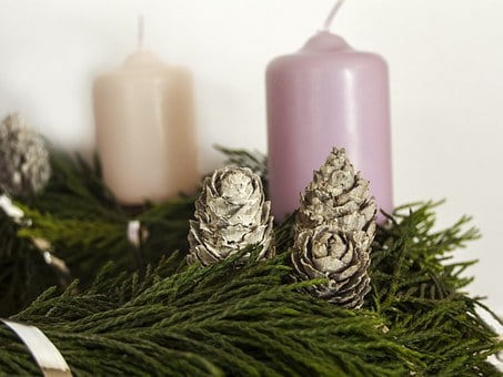 Advent, Candle, Christmas, Oil Lamp