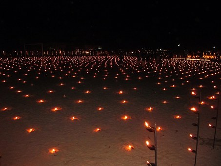 Temple, Thrikkarthika, Vilakku, Festival, Oil Lamps