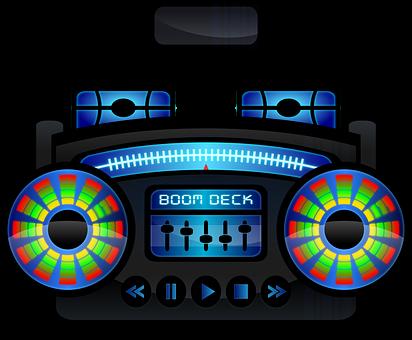 Boombox, Boom Box, Cassette Recorder, Ghetto Blaster
