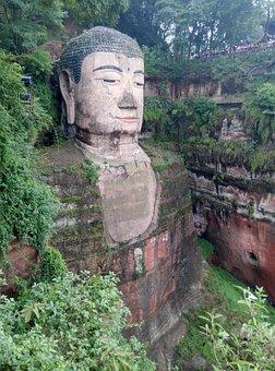 Big Buddha, Leshan Battle Road, Leshan