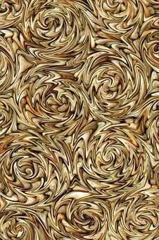 Background, Swirls, Brown, Liquified, Tan, Abstract