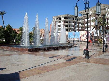 Marakech, Morocco, Zara Square