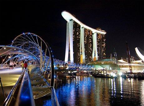Singapore, Marina Bay, Marina Bay Sands, Hotel