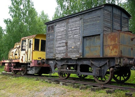 Locomotive, Wagon, Mine Train