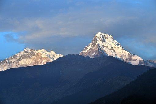Hill, Mountain, Annapurna, Nature, Landscape, Outdoor