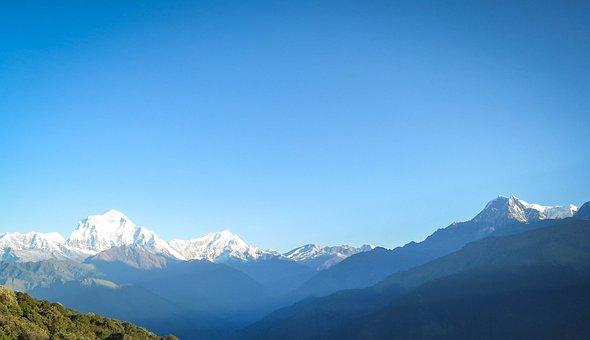 Annapurna Mountain Range, Nepal, Mountains, Peaks
