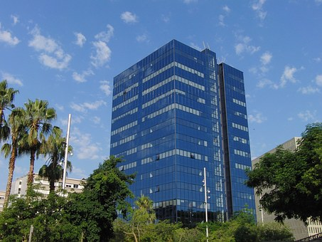 City, Offices, Hospitalet, Architecture, Building