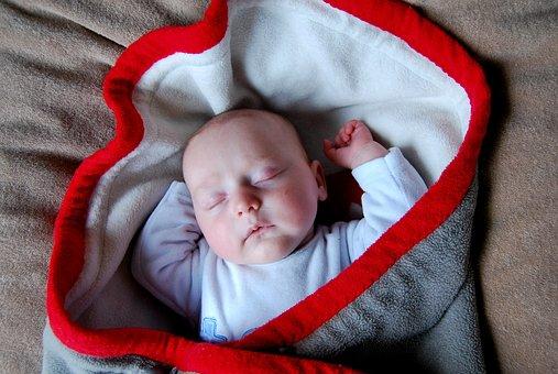 Baby, Blanket, Sleep, Child, People