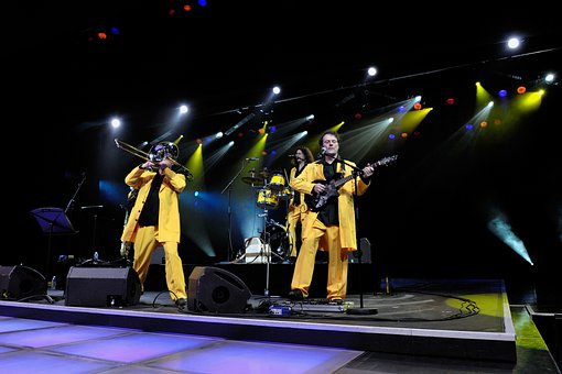 Band, Performance, Mister O, Monaco, Stage, Concert