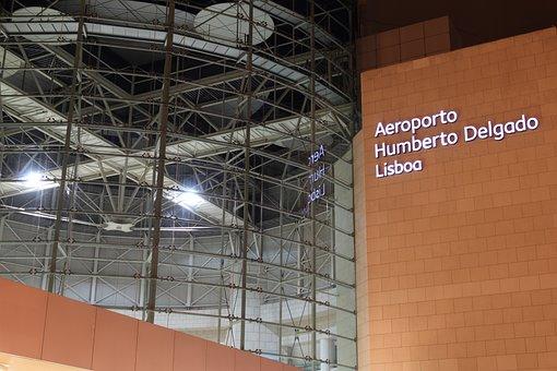 Portugal, Lisbon, Airport, Aviation, Travel, Flying