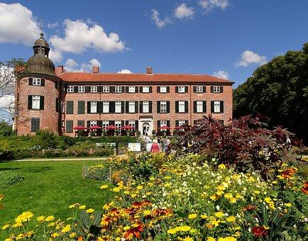 Castle, Eutin, Building, Schlossgarten