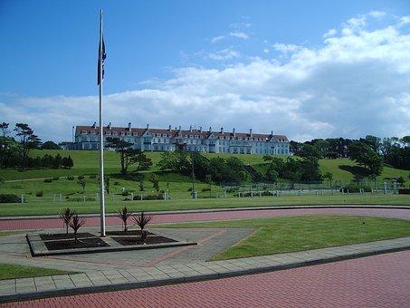 Golf Club, Golf, Golf Course, Scenery, Turnberry Hotel