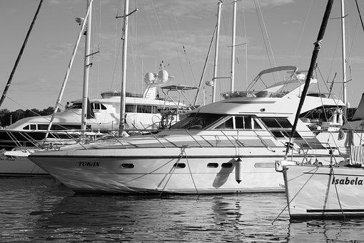Yacht, Sea, Boat, Water, Charter, Ship, Cruise, Tourism