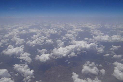 Clouds, Stratocumulus, Aerial View, India