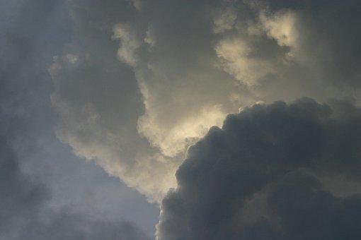 Air, Raincloud, Grey