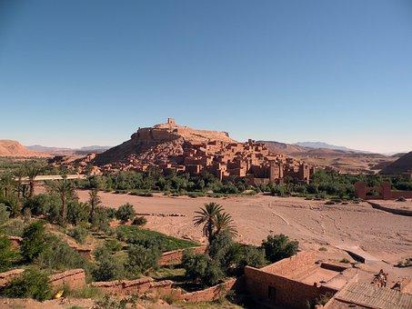 Aitbenhaddou, Morocco, Kasbah