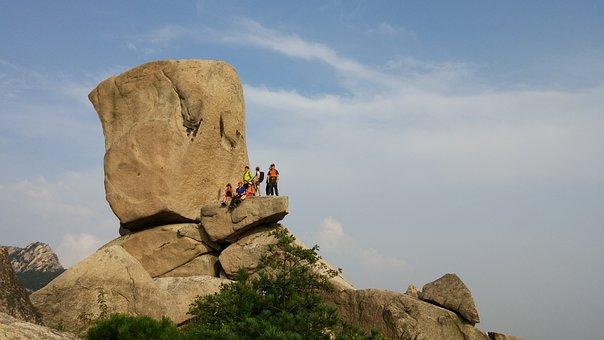 Bukhansan Mountain, Private Rocks, Climbing