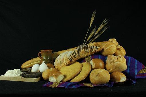 Bodegones, Bread, Cadre