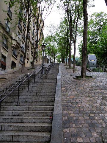 Stairs, Stairway, Staircase, Cobblestones, Climb