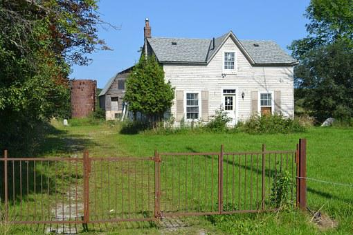 Home, Farm, Whitby, Old, House, Country, Farmhouse
