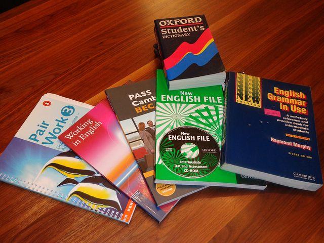 School Books, English Learning Books
