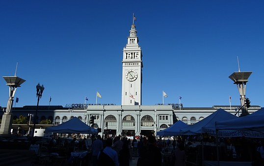 Clock Tower, Ferry Building, Port, San Francisco