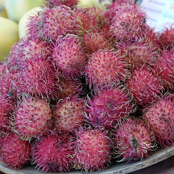 Rambutan, Fruits, Fruit