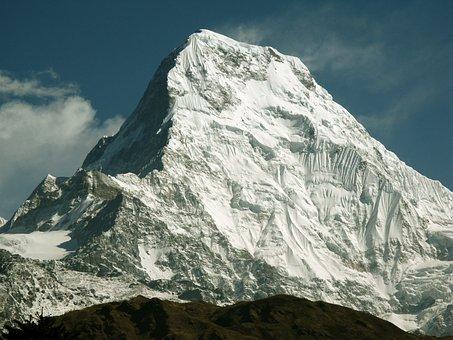Himalayas, Annapurna, Mountain, Mountains, Snow, Nepal
