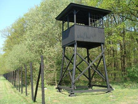 Westerbork, Drenthe, Guardhouse, War Camp, Jews