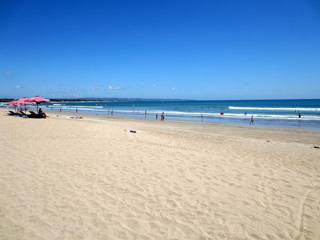 Beach, Sea, Water, Kuta Beach