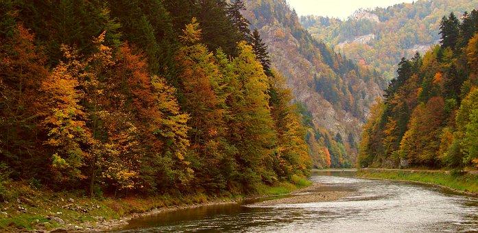 Pieniny, Mountains, Landscape, Autumn, Nature, Beauty