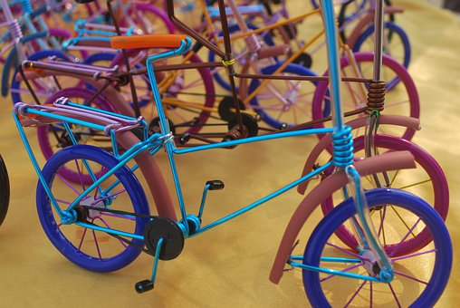 Handicraft, Hand, Crafted, Bike, Bicycle, Macro