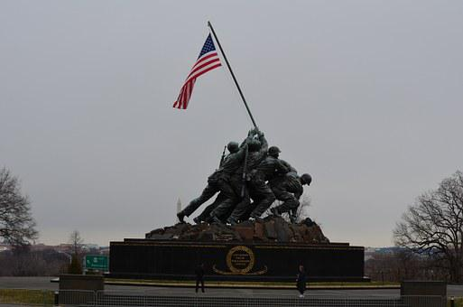 Monument, America, Loyalty, Commitment, Team, Tribute