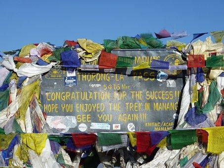 Annapurna, Himalayas, Nepal, Mountains, Thorong-la