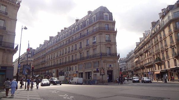 Paris, Bulevar, Architecture, Urbanism, Paris Street