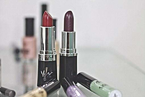 Lipstick, Red, Purple, Lips, Beauty, Passion