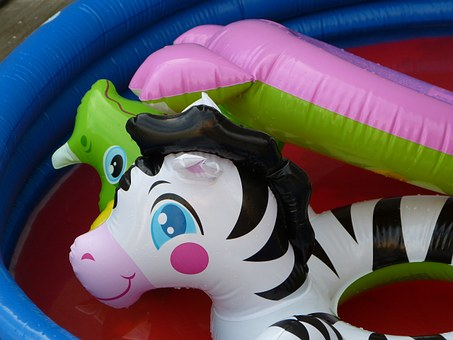 Pool, Inflatable, Pool Toy, Blowup, Vinyl, Float