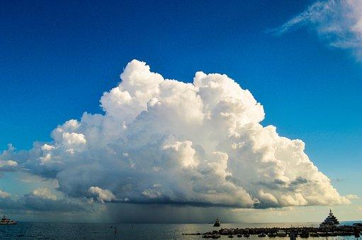Amalficoast, Cloud, Raincloud, Stromapproaching, Italy