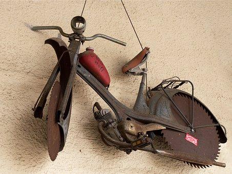 Metal, Metalworking, Motorcycle, Saw Blade