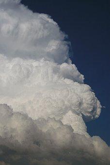 Cloud, Cumuluswolke, Sky, Huge, Cumulus, Thundercloud