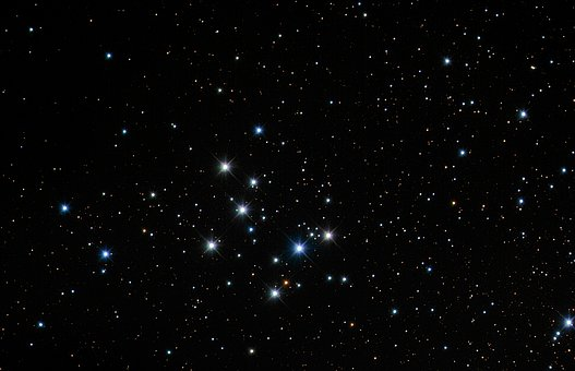 The Night Sky, Astronomical Objects, M29, Messi