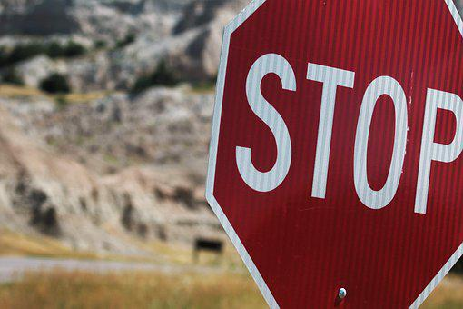 Stop Sign, Stop, Sign, Traffic, Red, Road, Warning