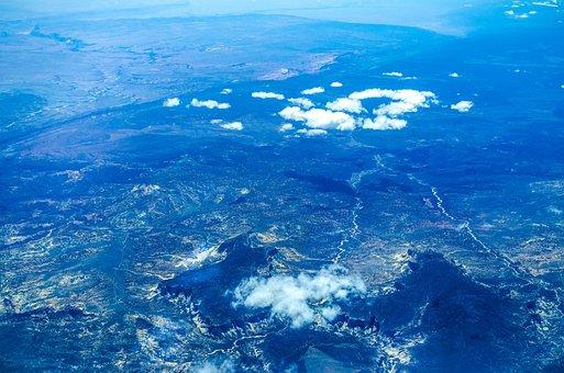 Nevada, Airplane View, Aerial, Airplane, Landscape