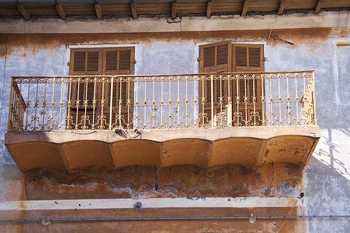 Italy Liguria, Bajardo, Decay, Historic Preservation