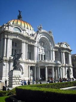 Bellas Artes, Building, Mexico, Monument, Museum, Art