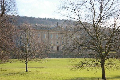 Chatsworth, Historic House, England, Uk