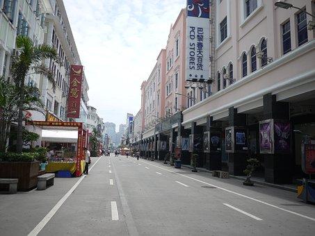 Xiamen, Commercial Street, Zhongshan Road