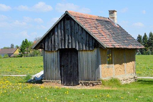 Hut, Small House, Truss, Fachwerkhaus