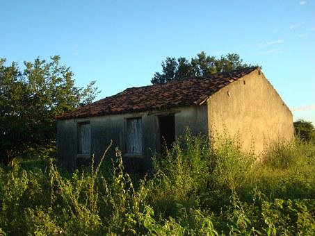 Ruins, Farm, Rural, Uiraúna-pb