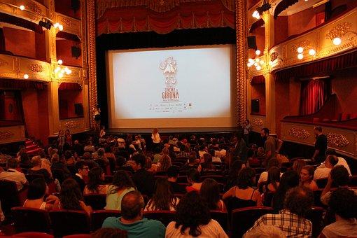 Cinema, Entertainment, Audience, Film Festival, Girona